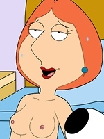 Gorgeous Lois Griffin with incredible body getting slammed